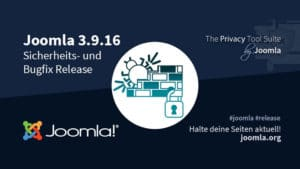 Joomla! 3.9.16 Bugfix & Security Release