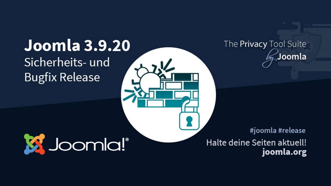 joomla 3.9.20 security und bugfix release