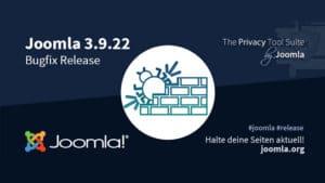 Joomla 3.9.22 Bugfix release