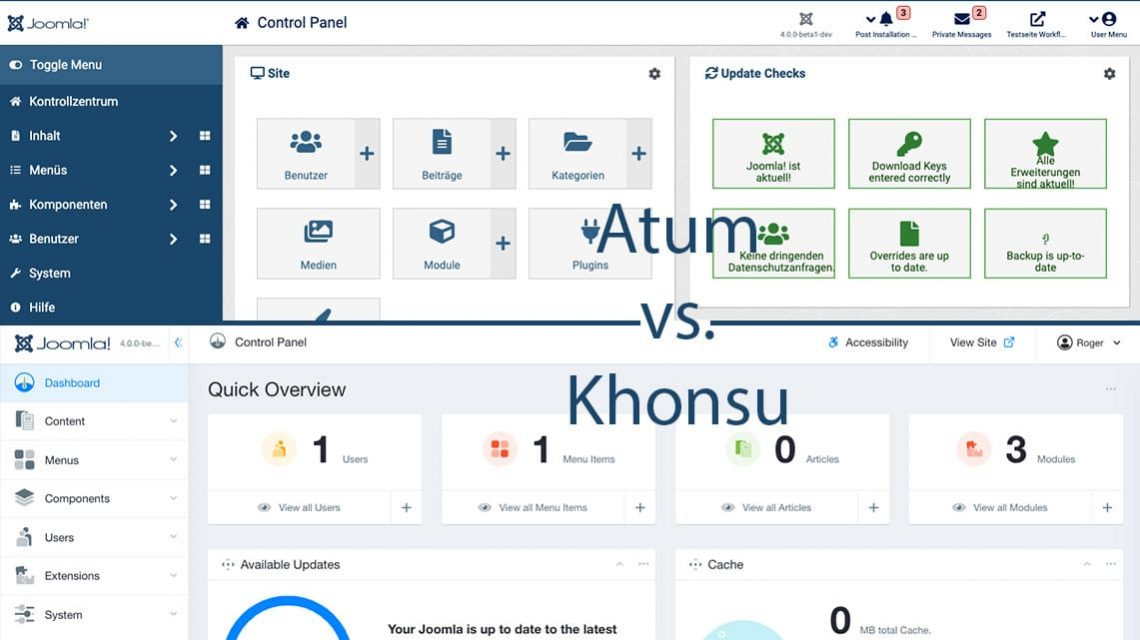 Atum vs. Khonsu